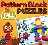 Pattern Block Puzzles • Math Shape Puzzles • Autumn Thanks