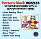 Pattern Block Puzzles • Math Shape Puzzles • Caught Reading Month Theme