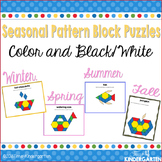Pattern Block Puzzles for All Seasons Bundle