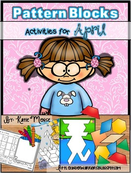 Pattern Block Puzzles for April