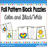 Pattern Block Puzzles for Fall
