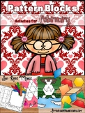 Pattern Block Puzzles for February