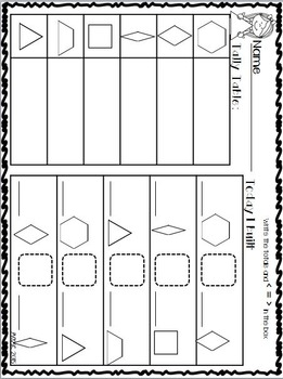 Pattern Block Puzzles for May