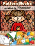 Pattern Block Puzzles for November
