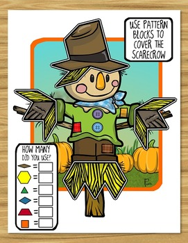 Pattern Block Puzzles for October / Halloween!