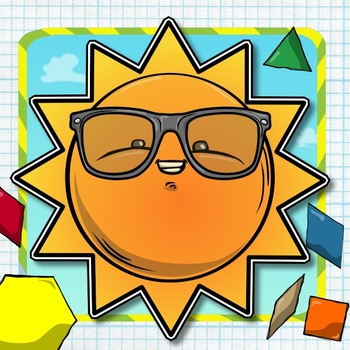 Pattern Block Puzzles for Summer