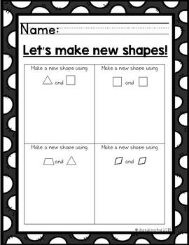 Pattern Block Shape Activities