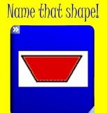 Pattern Block Shape Dice