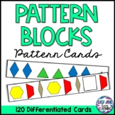 Pattern Cards {Pattern Block Shapes}