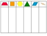 Pattern Block Sorting Mat
