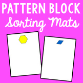 Pattern Block Sorting Mats