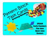 Pattern Block Task Cards: GROWING Bundle!