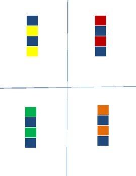 Pattern Block Task Cards for Preschool and Kindergarten