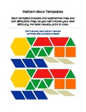Pattern Block Templates, Color Maps, and Practice Boards