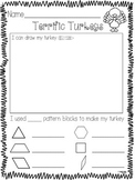 Pattern Block Turkey FREEBIE