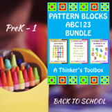 Pattern Blocks ABC123 BUNDLE