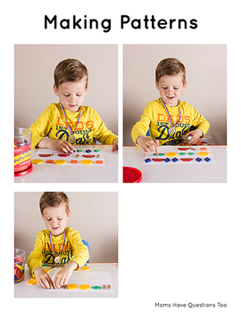 Pattern Blocks Activity Pack