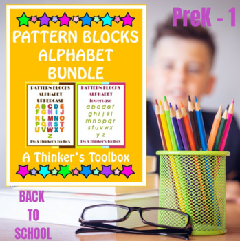 Pattern Blocks Alphabet Bundle