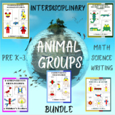 Pattern Blocks Animal Groups Bundle