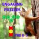 Pattern Blocks Animal Homes Puzzles