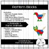 Pattern Blocks - Animals - Farm Animals