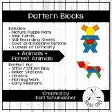 Pattern Blocks - Animals - Forest Animals
