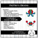 Pattern Blocks - Animals - Ocean Animals