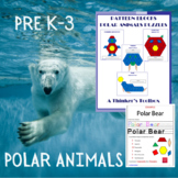 Pattern Blocks Arctic Animals Puzzles