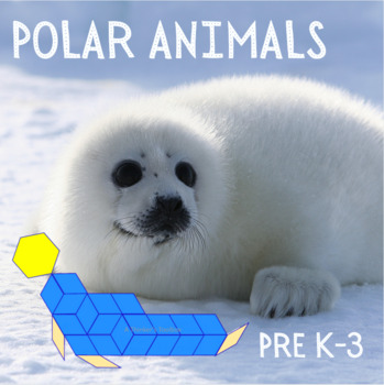 Pattern Blocks Arctic Animals Puzzles