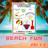 Pattern Blocks Beach Puzzles