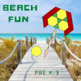 Pattern Blocks Beach Puzzles