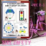 Pattern Blocks Bike Safety Puzzles