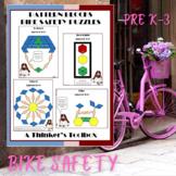 Pattern Blocks Bike Safety Puzzles