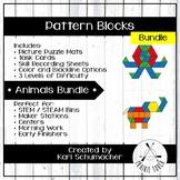 Pattern Blocks – Bundles – Animals