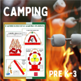 Pattern Blocks Camping Puzzles