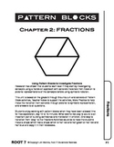 Pattern Blocks: Chapter 2: Investigating Fractions