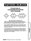 Pattern Blocks: Chapter 4:  Understanding Patterns