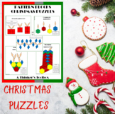 Christmas Holiday Math Puzzles