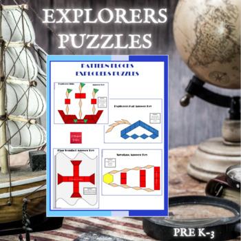 Pattern Blocks Christopher Columbus Puzzles