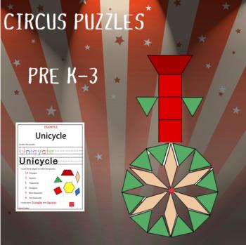 Pattern Blocks Circus Puzzles