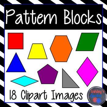 Pattern Blocks Clipart