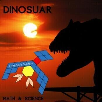 Pattern Blocks Dinosaur Puzzles