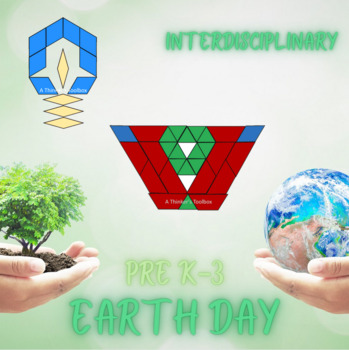 Pattern Blocks Earth Day Puzzles