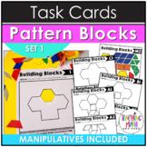 Pattern Blocks Math Task Cards Set 1
