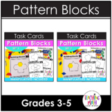 Pattern Blocks Elementary Math Task Cards BUNDLE