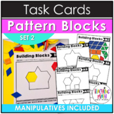 Pattern Blocks Elementary Math Task Cards (Set 2)