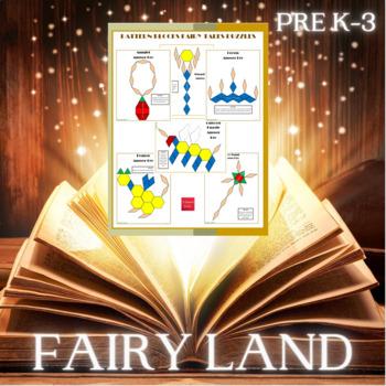 Pattern Blocks Fairy Tales Puzzles (Homeschool Reading)