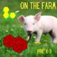 Pattern Blocks Farm Animal Puzzles