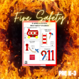 Pattern Blocks Fire Safety Puzzles