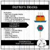 Pattern Blocks - Foods - Dessert